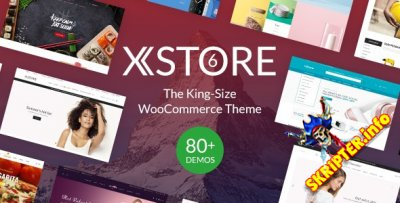 XStore v6.2.4 Rus Nulled – WordPress тема для интернет-магазина