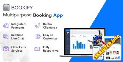 Bookify v1.4 Nulled - многофункциональное приложение для бронирования