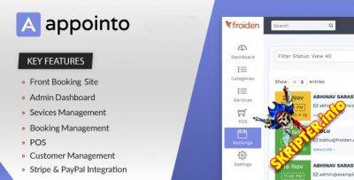 Appointo v2.2.3 Nulled - система управления бронированием