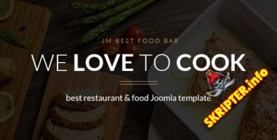 JM Best Food Bar v1.04 - шаблон ресторана для Joomla