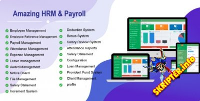 Amazing HRM & Payroll v1.0 - система управления персоналом
