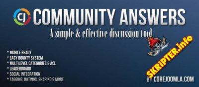 Community Answers Pro v4.7.1 - компонент дискуссий для Joomla