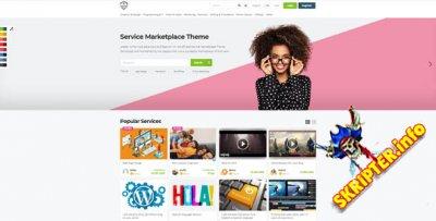 Jobster v5.6.3 Nulled - WordPress тема для рынка услуг и вакансий