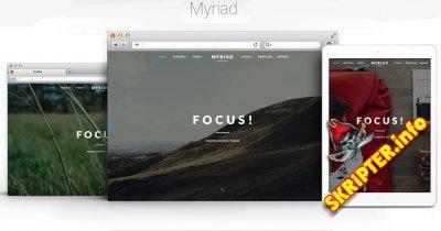 RT Myriad v2.1.11 - шаблон Joomla для сайта-портфолио
