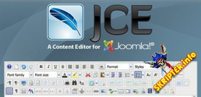JCE Pro v2.8.5 Rus - визуальный редактор для Joomla