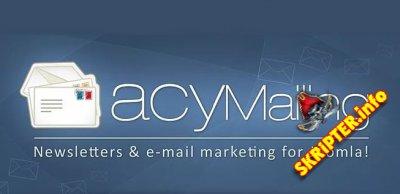 AcyMailing Enterprise v6.10.4 Rus - компонент почтовой рассылки для Joomla