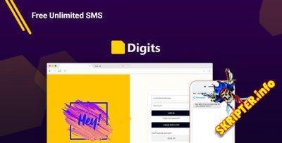 Digits v6.12.0.6 Rus Nulled - регистрация через смс для WordPress