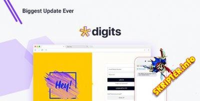 Digits v7.5.0.9 Rus Nulled - регистрация через смс для WordPress