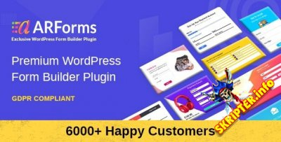 ARForms v4.0 Rus Nulled - конструктор форм для WordPress