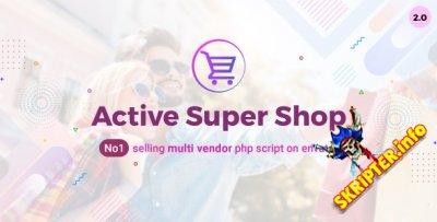 Active Super Shop v2.0 Nulled - многофункциональный скрипт интернет магазина
