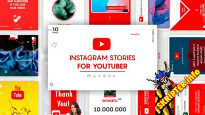 Instagram Stories for YouTuber - Project for After Effects (Videohive)