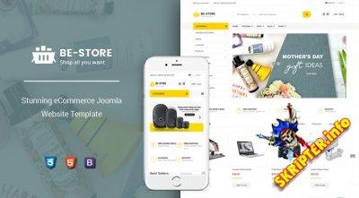 SJ BeStore v1.0.0 - шаблон электронной коммерции для Joomla