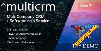 Multicrm v3.1.5 - многофункциональная мощная CRM