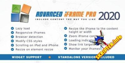 Advanced iFrame Pro v2020.1 - создание фреймов для Wordpress