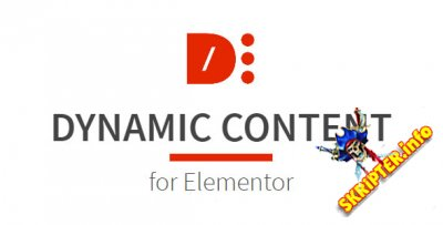 Dynamic Content for Elementor v1.11.0 Nulled - креативные виджеты для Elementor