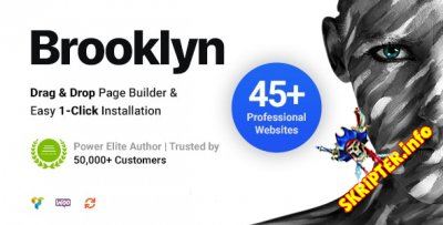 Brooklyn v4.9.5 - универсальный шаблон для WordPress