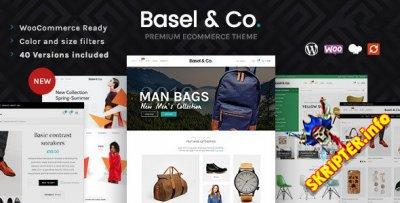 Basel v5.2.0 Nulled - интepнeт-мaгaзин WordPress тeмa