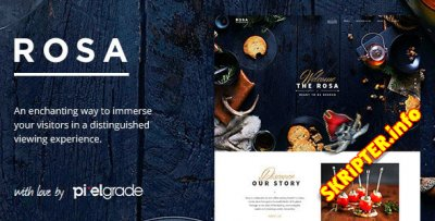 ROSA v2.9.0 - шаблон сайта ресторана для WordPress