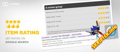 Item rating v2.0.3 Rus - система рейтингов и оценок для Joomla