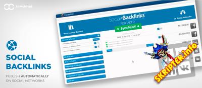 Social Backlinks v2.2.17 Rus – автоматическое добавление материалов Joomla в социальные сети