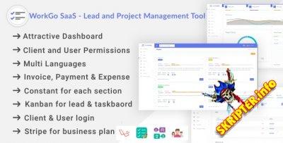 WorkGo SaaS v1.0 Rus - скрипт управления лидами и проектами