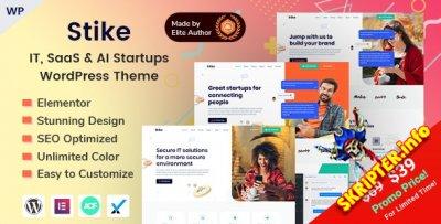 Stike v1.0.0 - IT-стартапы WordPress тема