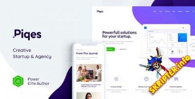 Piqes v1.0.1 Nulled - бизнес-тема WordPress