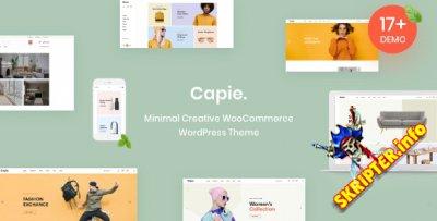 Capie v1.0.18 - минималистичная WordPress тема