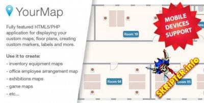 YourMap v1.12.2 - настраиваемые карты с серверной панелью
