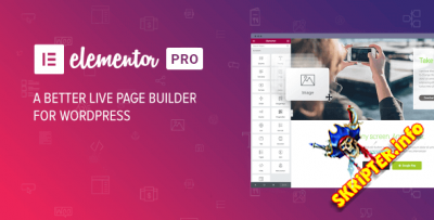 Elementor Pro V2.10.3 Nulled – Drag & Drop конструктор страниц для WordPress