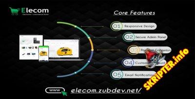 Elecom v1.0 - магазин электронной коммерции