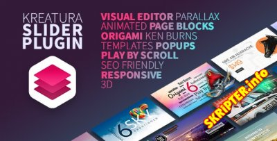 Kreatura Slider v6.11.5 Nulled - анимированный слайдер для WordPress