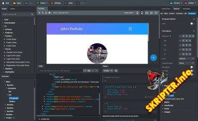 Bootstrap Studio v5.1.1 Cracked - мощная программа для создания веб-сайтов