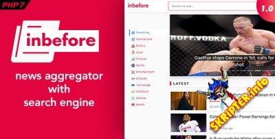 InBefore v1.0.2 - агрегатор новостей с поисковой системой