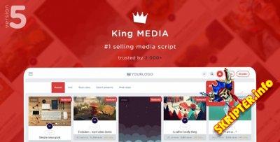King Media v5.2 - скрипт мультимедийного сайта
