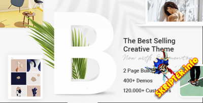Bridge v26.1 Nulled - многоцелевая премиум тема для WordPress