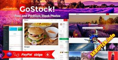 GoStock v3.9 - скрипт фотогалереи