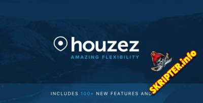 Houzez v2.3.5 Rus Nulled - шаблон недвижимости для WordPress