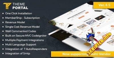 Theme Portal Marketplace v4.5 Nulled - скрипт интернет магазина