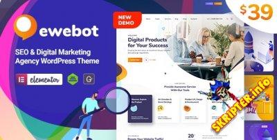 Ewebot v2.0.6 Nulled - тема цифрового агентства для WordPress