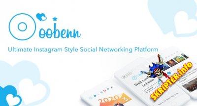 oobenn v3.8.1 Nulled - скрипт социальной сети в стиле Instagram