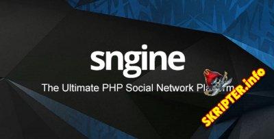 Sngine v2.7.2 Rus Nulled - скрипт социальной сети
