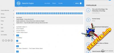 Char Map v1.4 - модуль интерактивной карты сайта для DLE