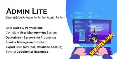 Admin Lite v1.5 - мощная панель администратора