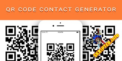 QR Code Contact Generator v1.0 - скрипт генерации QR кода контактов