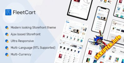 FleetCart v2.0.5 Nulled - система электронной коммерции