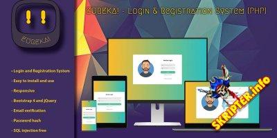 Eureka v0.9 Nulled - система входа и регистрации