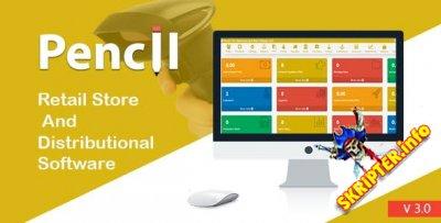 Pencil v3.0 - скрипт магазина розничной торговли