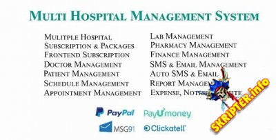 Multi Hospital - система управления больницами