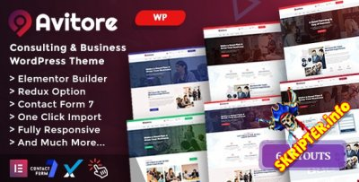 Avitore v1.0 - бизнес тема для WordPress